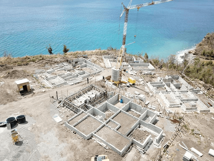 CBI-Approved Tranquility Beach Construction Progresses on Schedule