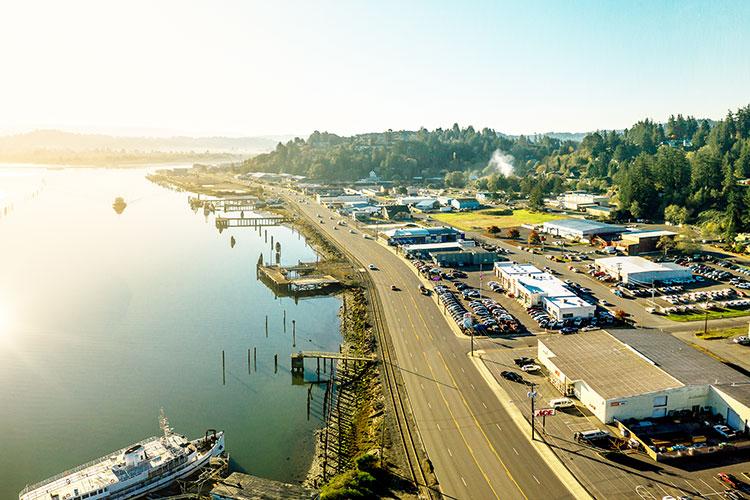 Thành phố Coos Bay - tiểu bang Oregon