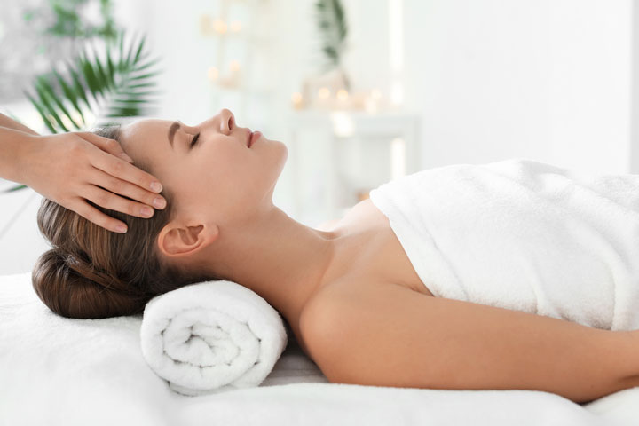 Spa service and beauty treatments