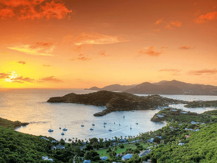 The largest of the English-speaking Leeward Islands, Antigua and Barbuda is a parliamentary democracy with a legal system based on English common law